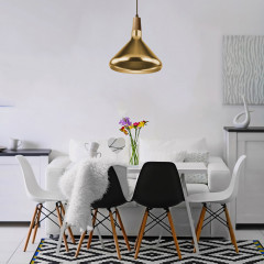 AZzardo Ida M Gold - Pendant - AZZardo-lighting.co.uk
