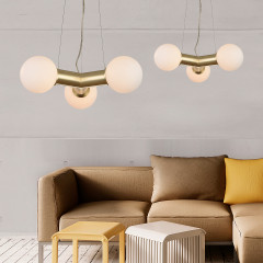 AZzardo Pope Gold - Industrial style - AZZardo-lighting.co.uk