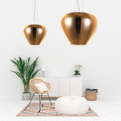 AZzardo Baloro M Gold - Modern style - AZZardo-lighting.co.uk